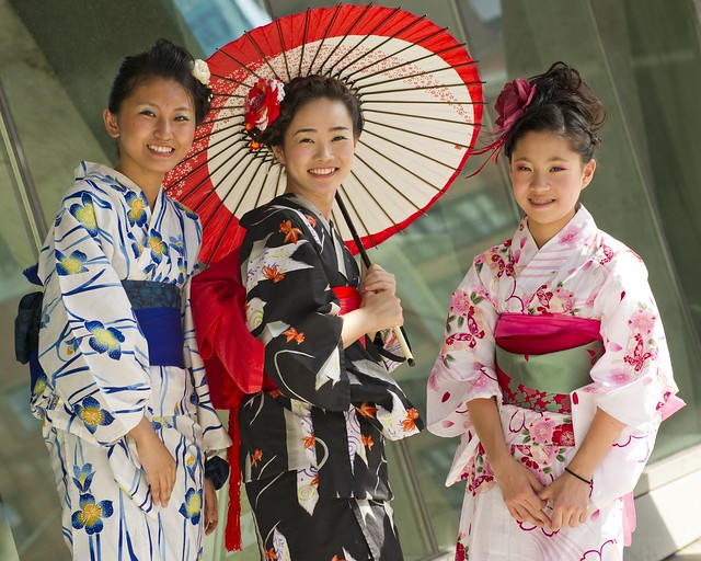 Traditional Kimono Fashion Show. Photo by Yoko Essel.