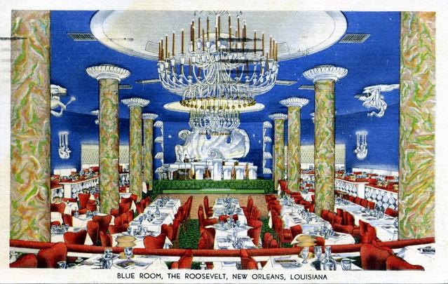 Roosevelt Hotel Blue Room New Orleans LA