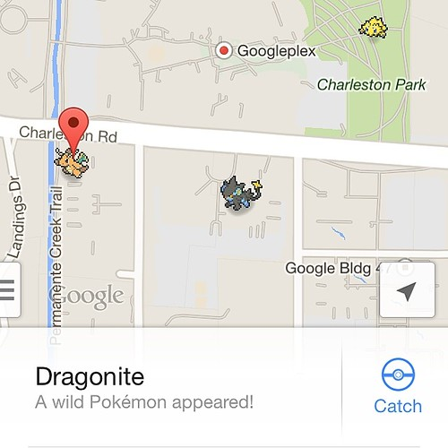 God damn you google! Pokémon on Google Maps is going to ruin productivity today...