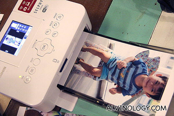 All photo print-outs were made possible by Canon Selphy