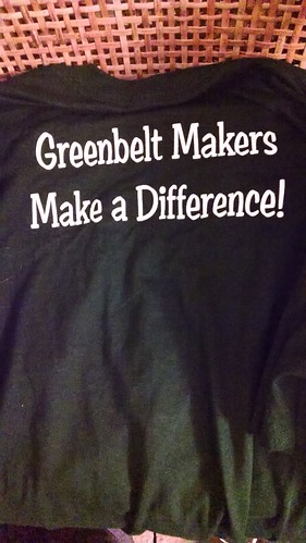 The Official T-Shirt of the 2014 Greenbelt Mini-Maker Faire