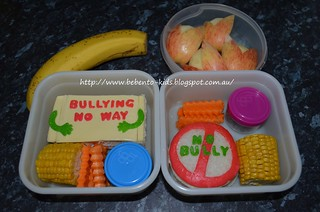 Say No to Bullying Bento