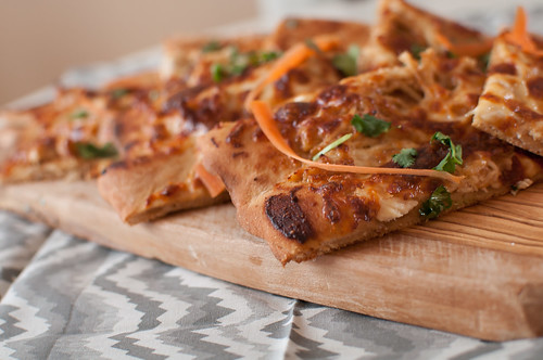 Thai Chicken Pizza 3