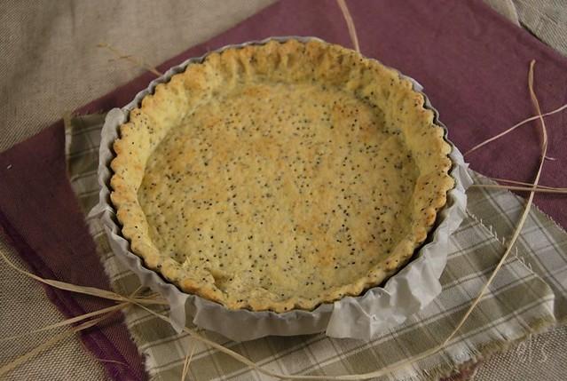 Pâte à tarte au pavot