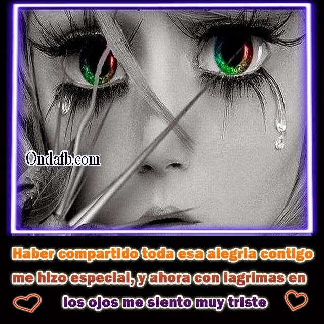Imagen De Una Persona Enamorada Con Frase Triste De Amor Para