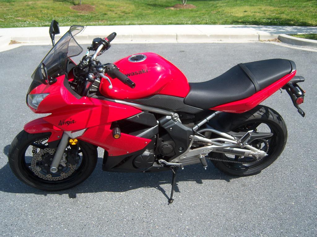 Sold 2009 Kawasaki Ninja 650r In Md Sportbikes Net