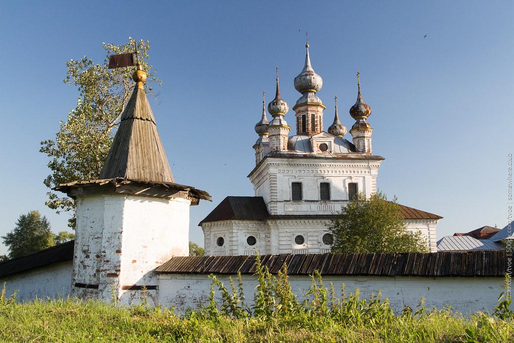 Михайло-Архангельский монастырь и собор в Юрьеве-Польском