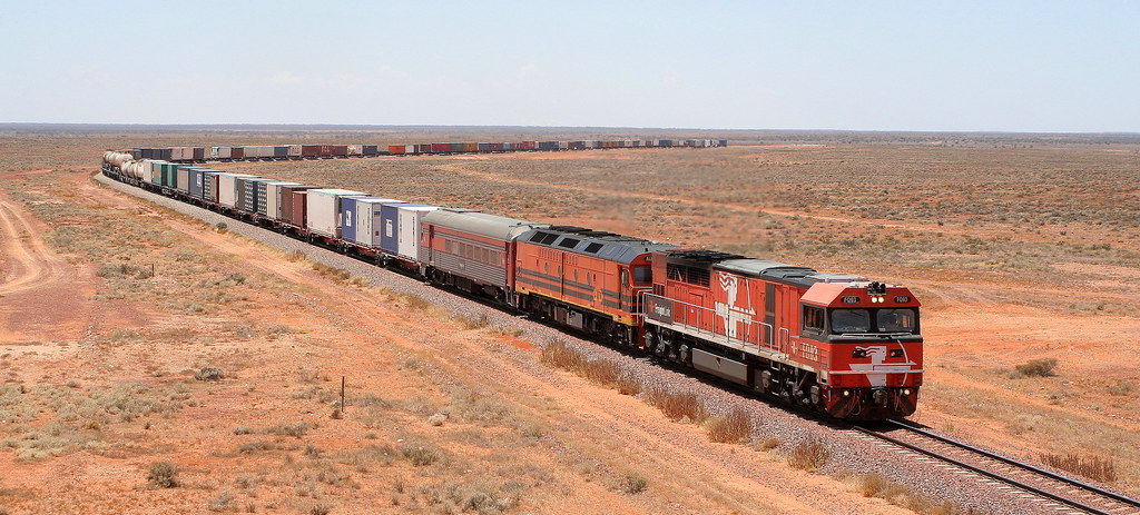 FREIGHTLINK FQ03 & ALF19 , 5AD1, Adelaide to Darwin, COONDAMBO by Peter Cousins