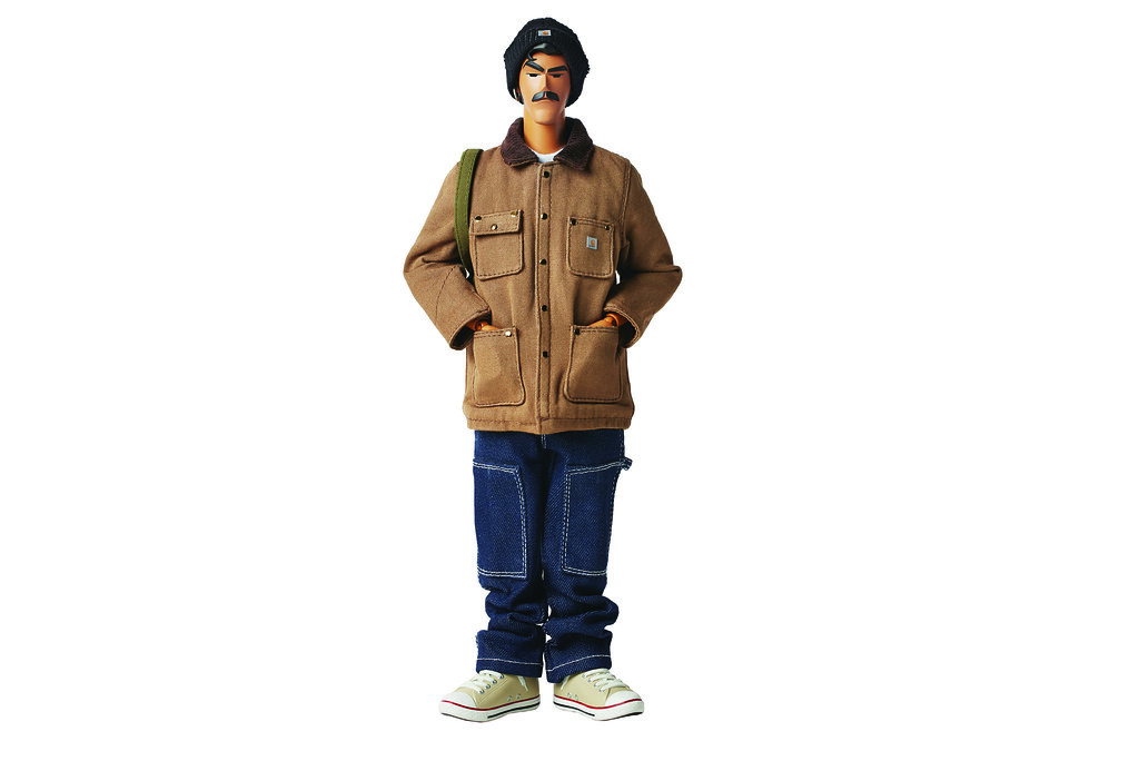 Michael Lau × Carhartt WIP【畫師 WorkMaxx】GARDENER SAYS WORK IS OVER!!1/6 比例人偶作品