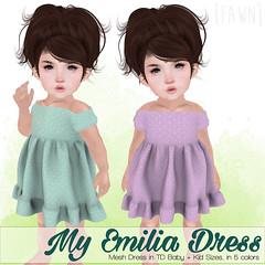 {fawn} My Emilia Dress