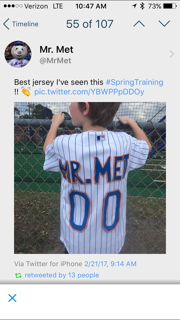 size 40 5f99c 597f4 TheMediagoon.com: Jerseys: Home Made Mr Mets Kid Jersey