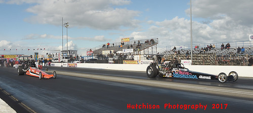 Mike Halstead (far lane) took the Rear Engine Top Fuel title  copy