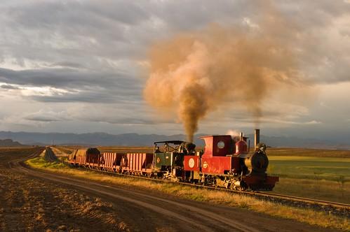 railroad heritage digital sunrise pentax rail railway steam locomotive railways railfan narrowgauge steamlocomotive steampower steamloco southafricansteam sandstoneestaterailway