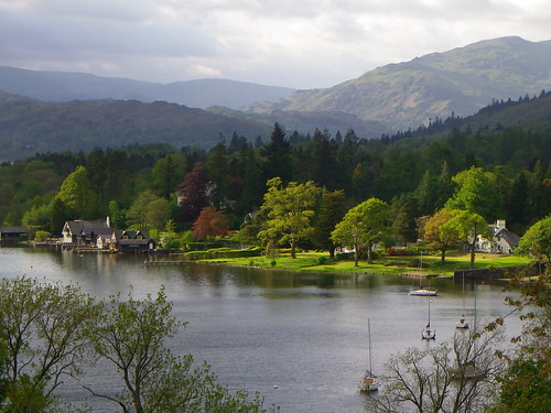 the Eastern shore of Windermere, Lake District, UK