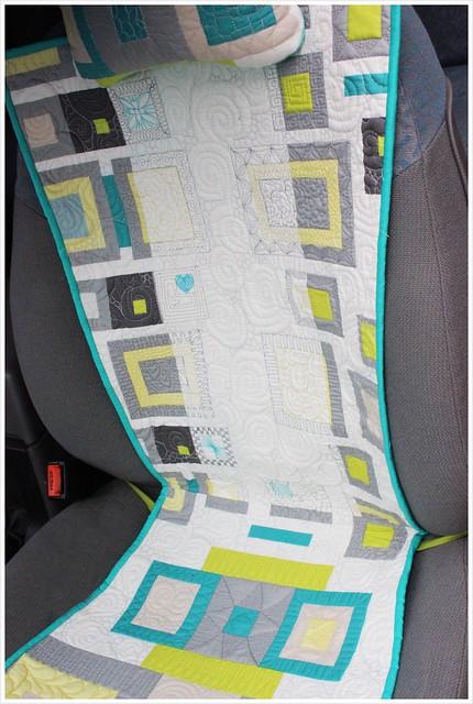 Make It Right Challenge - Car Seat Pad_Angela Walter Panel