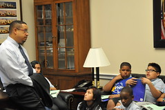 06.12.13 Adelante College Prep Meeting with Rep. Ellison