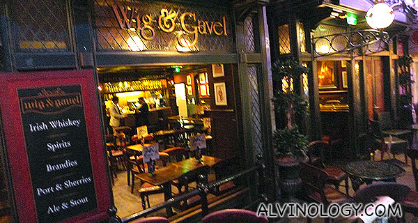 Wig and Gavel English-style pub