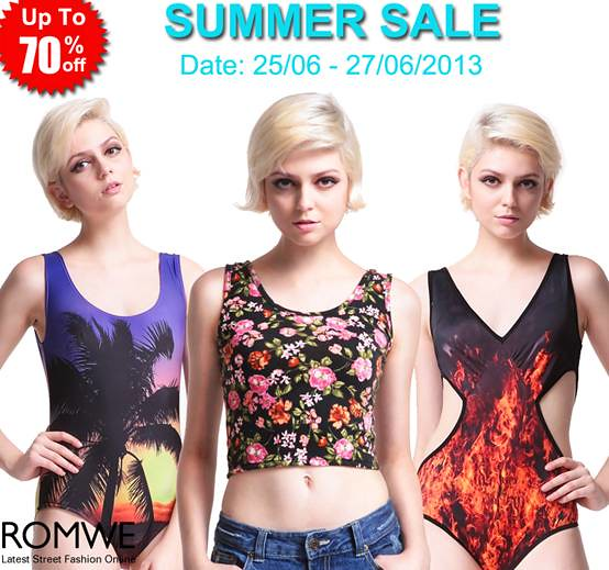romwe summer