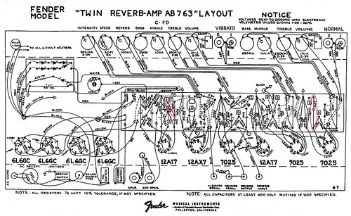 Fender® Forums • View topic - 1975 Twin Reverb Rebuild on