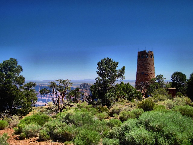 Watch Tower at Desert View HDR 20130620