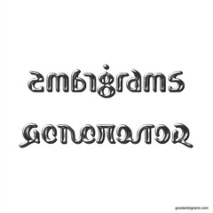 The world 39 s best photos of ambigram and wow flickr hive mind for Two words in one tattoo generator