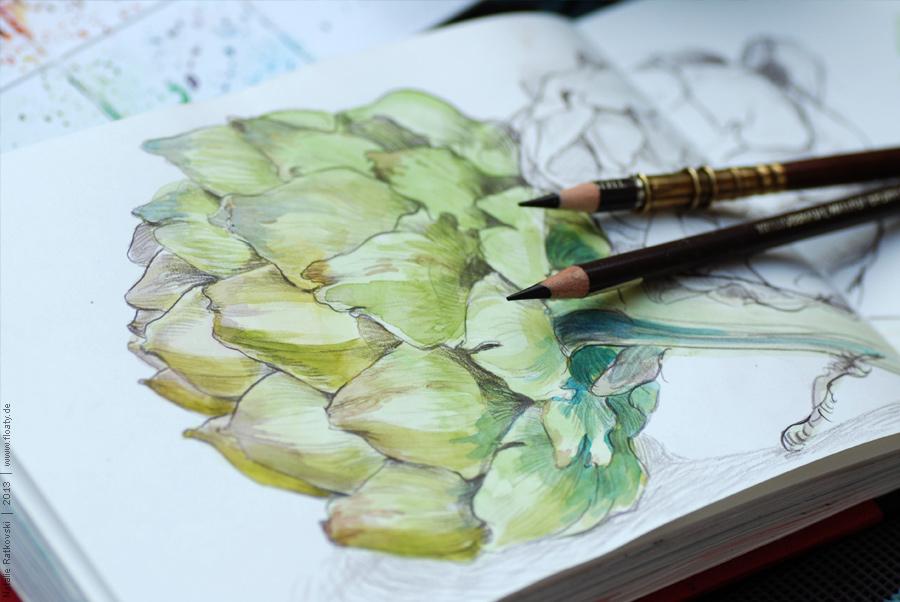 My love: artichokes