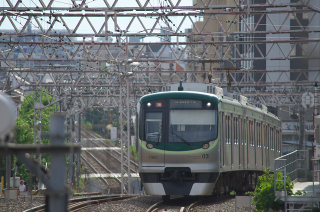 Tokyo Train Story 2013年7月15日 東急池上線