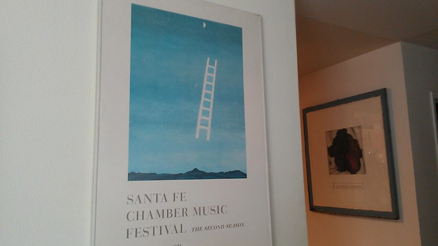 Also got the O'Keeffe's up
