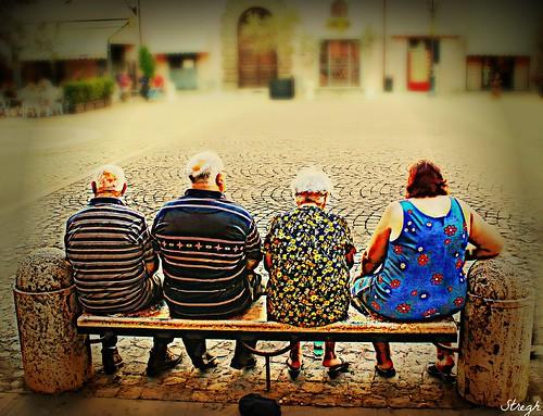 L'estate per gli anziani