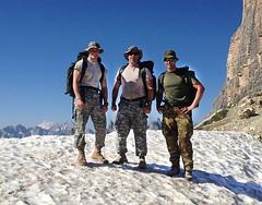 walking(0.0), sports(0.0), extreme sport(0.0), climbing(0.0), adventure(1.0), mountain(1.0), recreation(1.0), outdoor recreation(1.0), mountaineering(1.0), backpacking(1.0), summit(1.0), ridge(1.0), mountain guide(1.0), hiking(1.0), mountainous landforms(1.0),