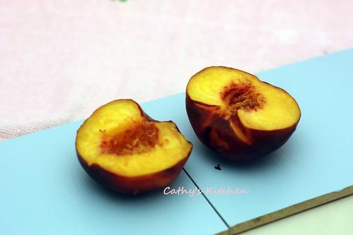 蜜桃酥烤包 Peach Dumpling 9
