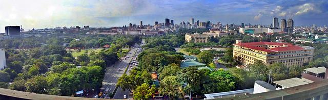 Rizal Park/Intramuros Panorama
