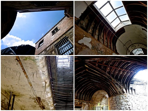 Eastern State Penitentiary Looking Up