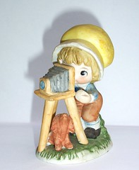 Figurines with a camera
