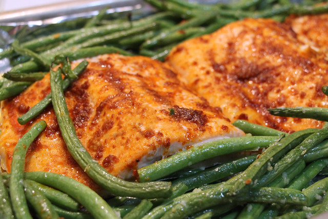 Lemon Paprika Roasted Salmon