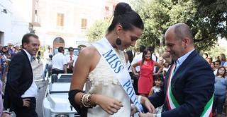 Vitto e Miss Polignano alla Targa del Crocifisso 2012