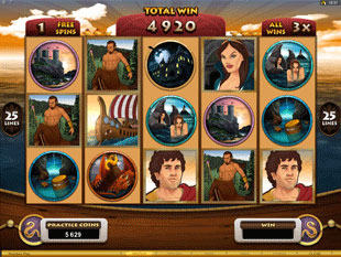 Jason and the Golden Fleece Free Spins