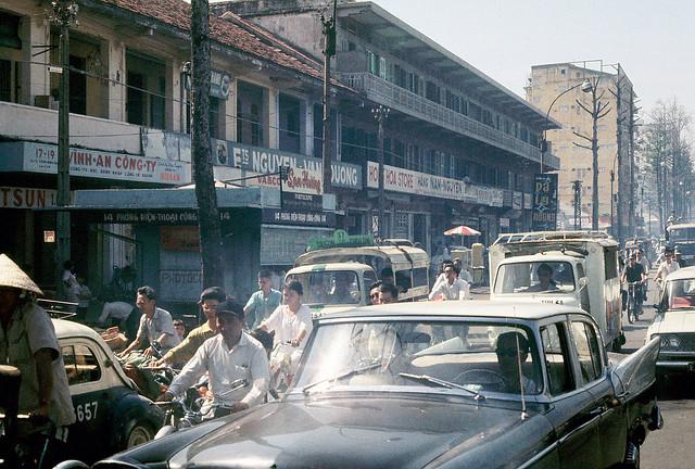 Saigon 1969-70 - Đường Trần Hưng Đạo