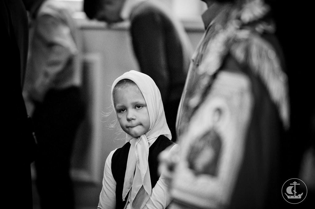 20 сентября 2013, Всенощное бдение накануне праздника Рождества Божией Матери