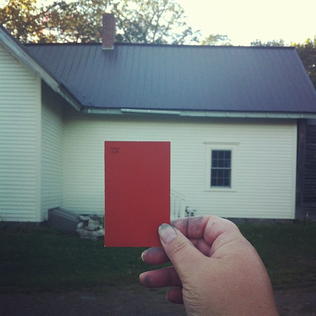 This is the one. #homestead #housepainting #homeimprovement #diy