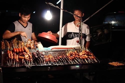 Thai Street Food BBQ Stall