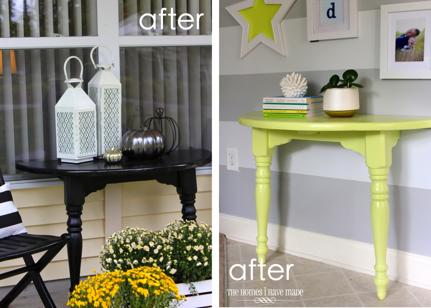 Lemon Lime Console Table-016