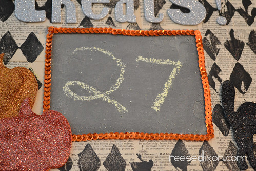 Halloween Countdown Calendar Tutorial Step 6