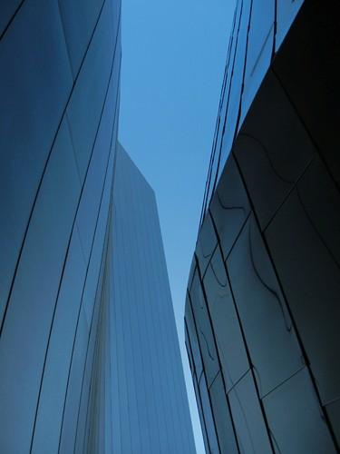 DSCN8526 _ Exterior Detail, Walt Disney  Concert Hall, Los Angeles, July 2013