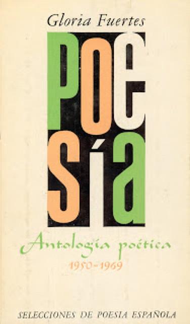 Cubierta de Antología poética (1950-1969)
