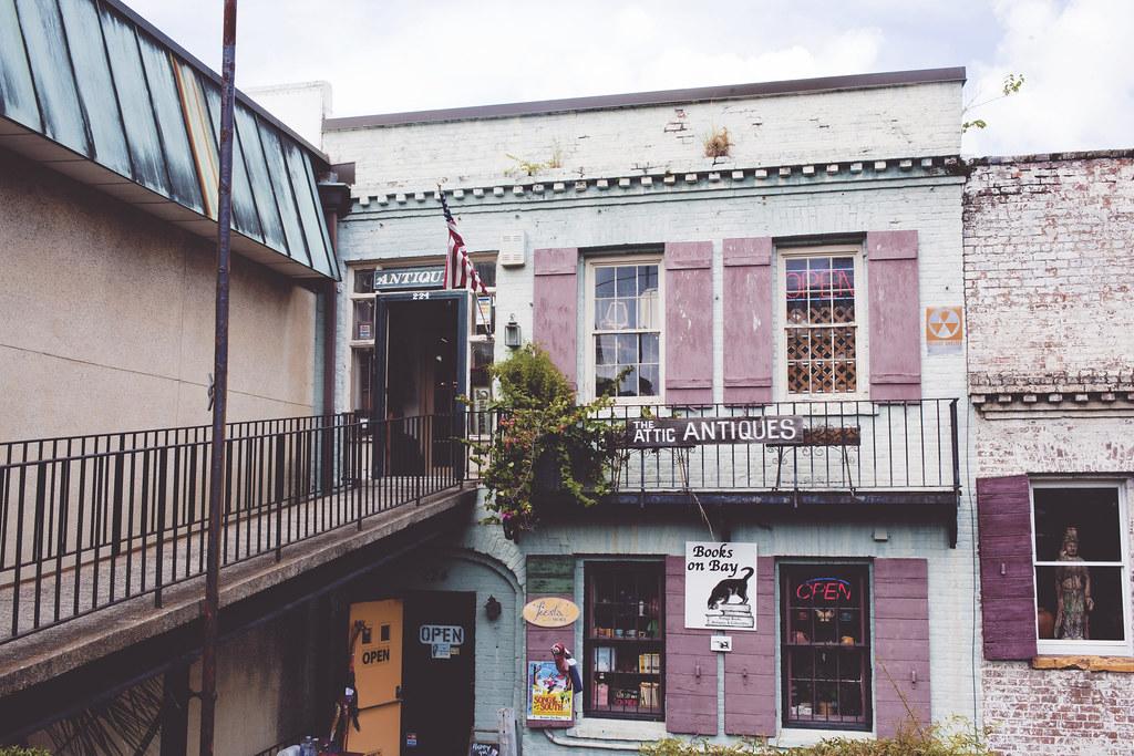 Attic antiques, Savannah, Georgia