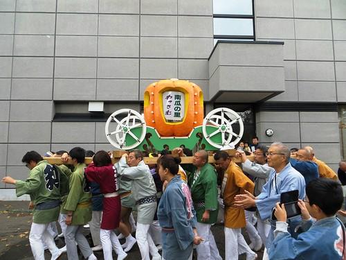カボチャ神輿