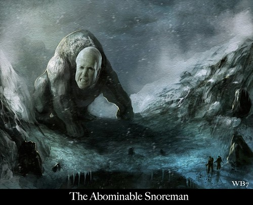 THE ABOMINABLE SNOREMAN by WilliamBanzai7/Colonel Flick