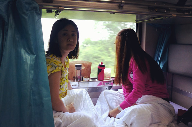 Bangkok Trip by Train: Breakfast in Bed