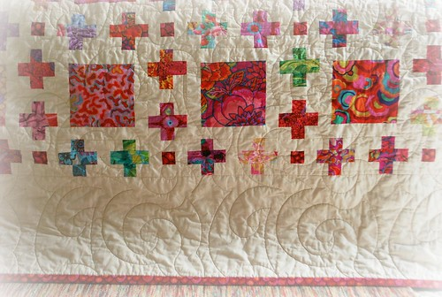 Big swirls quilt stitch